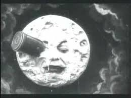 From Méliès's most famous film, 1902.
